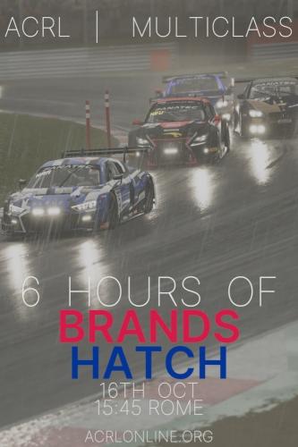 Brands Hatch 6h Multi-Class