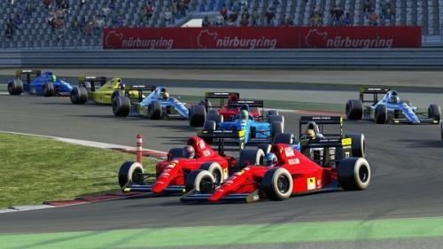 Open Wheel Testing - RSS 1990 F1 V10