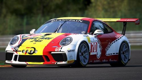 ACC Porsche Cup Test
