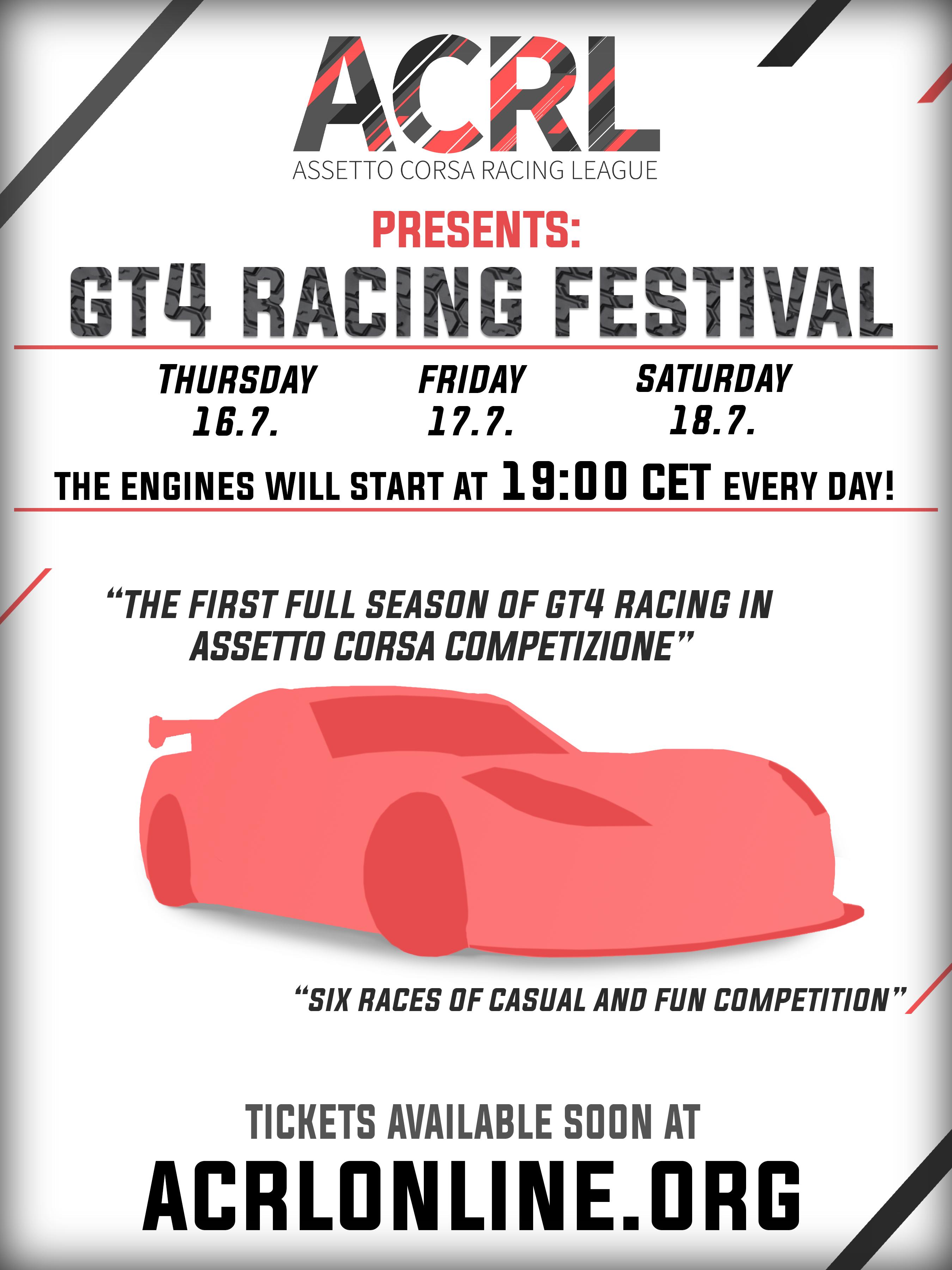 ACC GT4 Festival