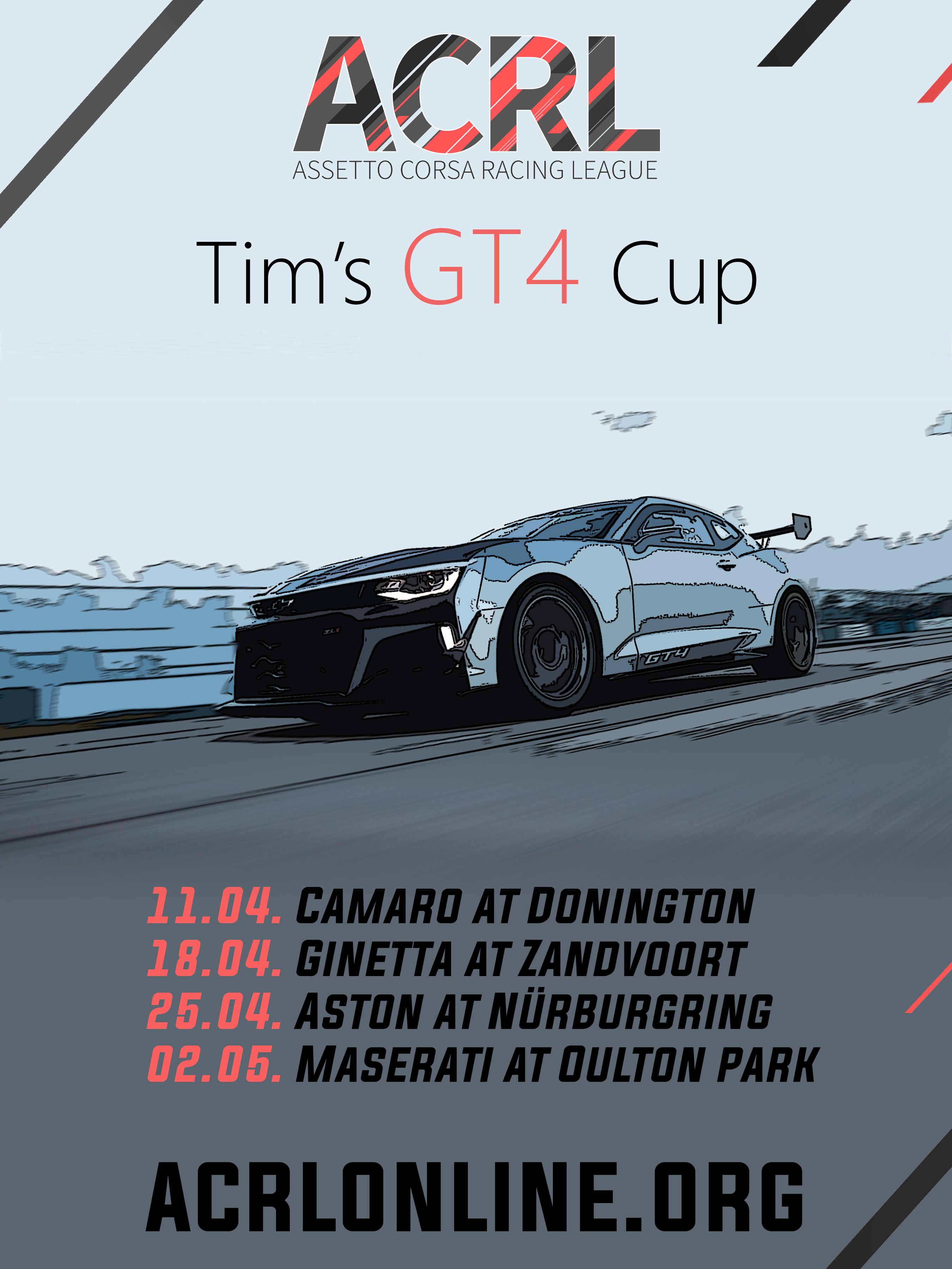 Tim's GT4 Extravaganza